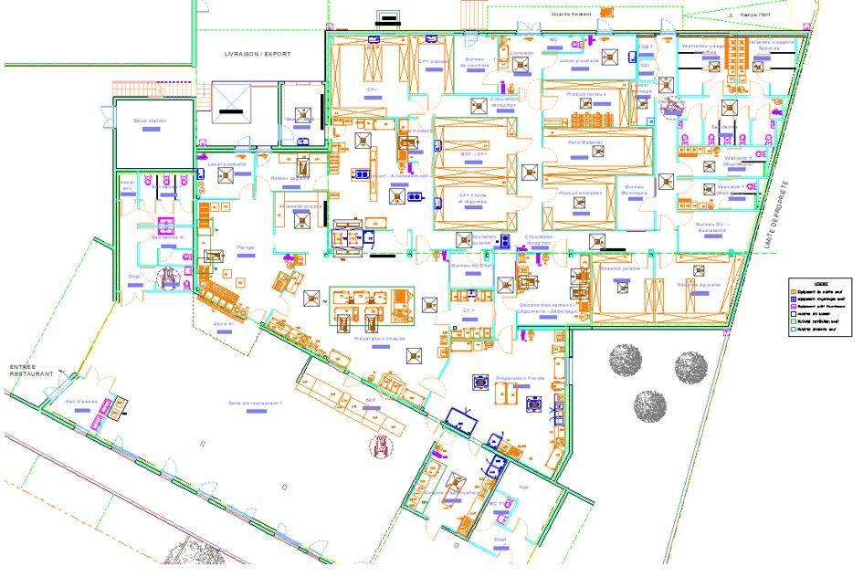 Construction d 39 une cuisine centrale et d 39 un restaurant - Definition d une cuisine centrale ...